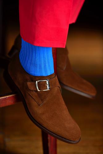 suit shoes - Saint Crispin mens suit Northampton
