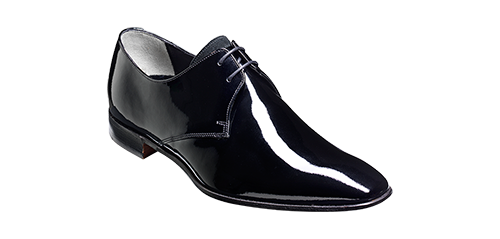 barker patent shoes by Saint Crispin Bespoke Menswear